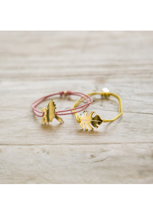 """Bracelets dorés """" Les Inséparables """""""