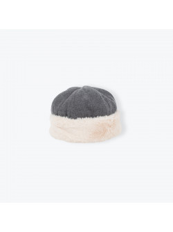 Anthracite grey toque