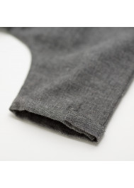 Anthracite grey tweed baby's pant