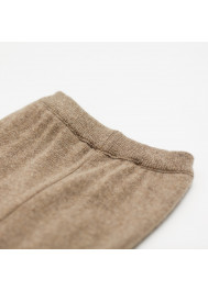 Chestnut knitted baby's pant