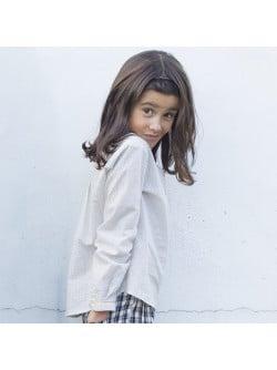 Mini dots girl's blouse