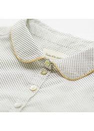 Mini dot's girl's blouse