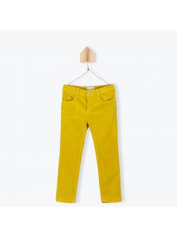 Saffron velvet children's pant
