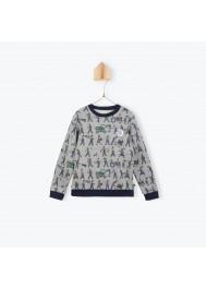 Travailleurs pattern sweater