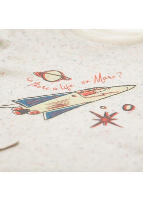 T-shirt Fusée écru