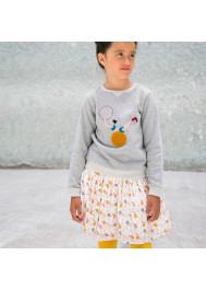 Circus printed girl's skirt