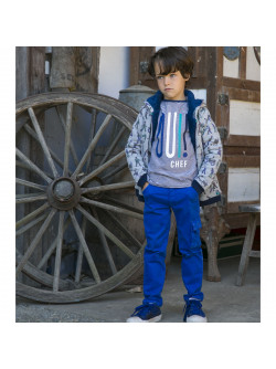 Cobalt blue children's pant