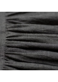 Anthracite grey girl's dress