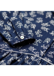 Flowers printed girl's dress