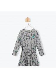 Bricoleurs pattern girl's dress