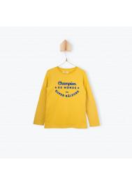 Yellow jersey boy's T-shirt