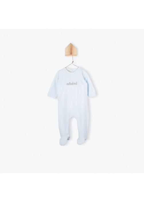 Pyjamas bébé velours