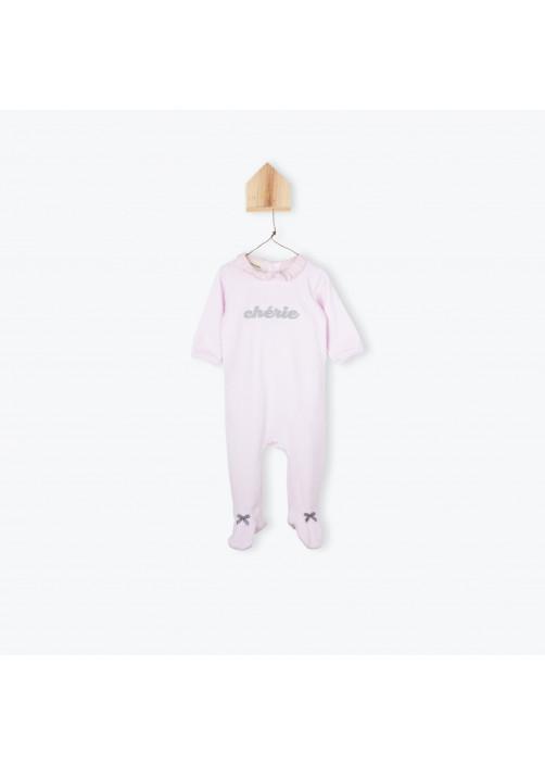 Pyjamas bébé velours chérie