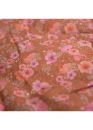 Camellias pattern girl's skirt