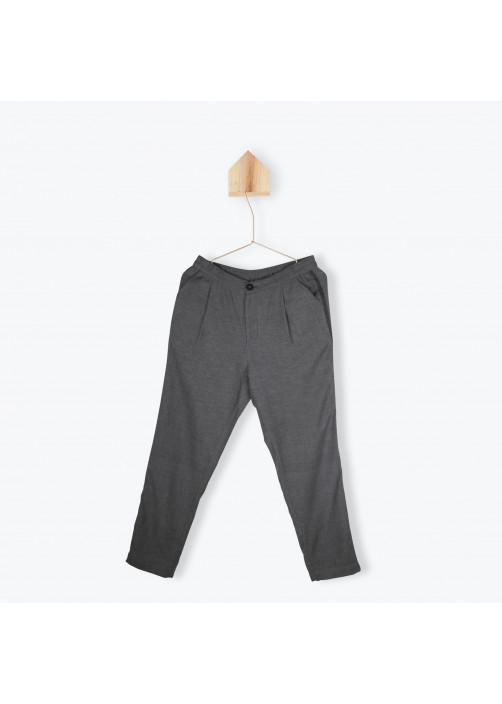 Pantalon femme à chevrons
