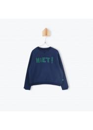 Navy blue children's sweater