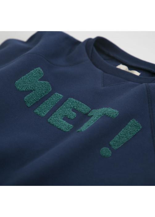Sweatshirt bleu marine Niet