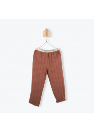 Paprika striped girl's pants