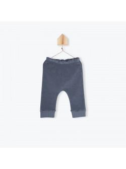 Leggings bébé jersey ardoise