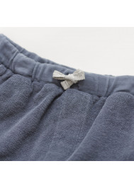 Grey terrycloth baby's leggings