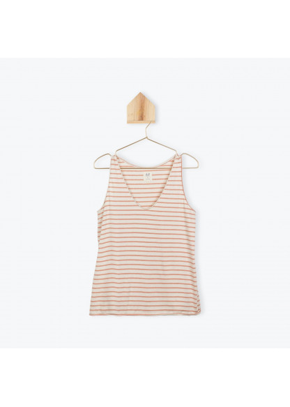 Woman's striped singlet