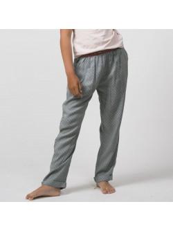 Pantalon fille imprimé mini motifs