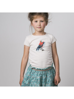 Off-white Birds girl's T-shirt