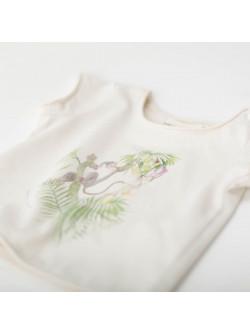 Off-white Monkey girl's T-shirt