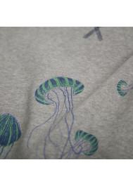 Sweat molleton imprimé Méduses