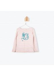 T-shirt marinière Dragon