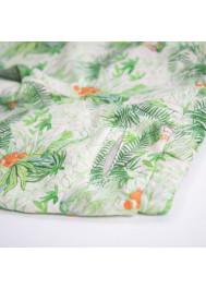 Bermuda molleton imprimé jungle