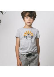 Heather grey baby boy's T-shirt