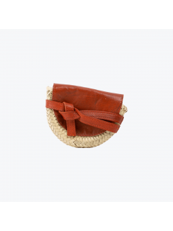 Wicker banana bag